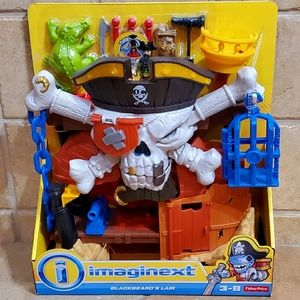 Brand New: Imaginext/Blackbeard's Lair